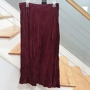 Kathryn Deene silk skirt